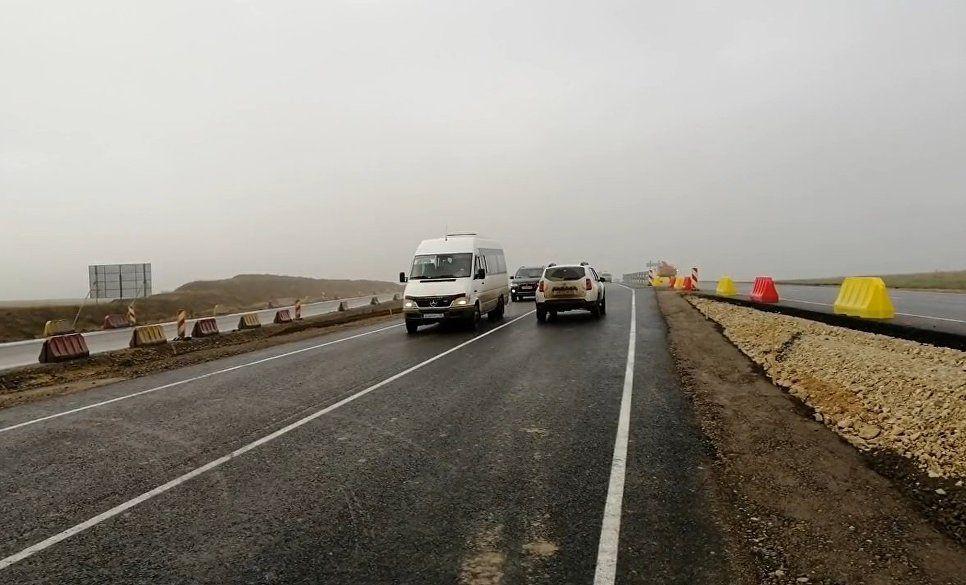 ВКрыму открыли движение попервому участку дороги «Таврида»